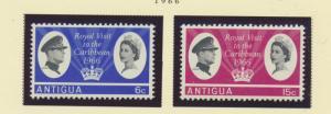 Antigua Scott #161 To 162, Royal Visit, British Carribean Common Design Issue...