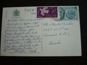 Europa 1962 - Cyprus - Card