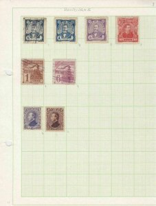 honduras early stamps ref 10939