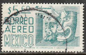 MEXICO C477, $5.60 1950 Definitive 9th issue, unwatermarked. USED. F-VF. (1460)