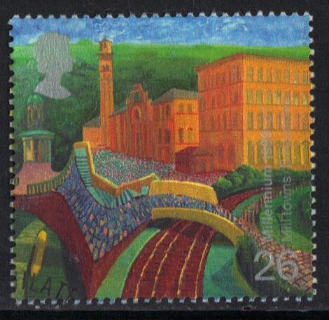 Great Britain 1999 used Millennium The worker`s tale 26p  #