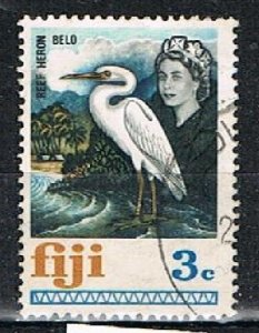 FIJI 190538 - 1969 3ch QEII defin used