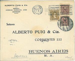ARGENTINA -  POSTAL HISTORY - COVER: NICE automatic POSTMARK