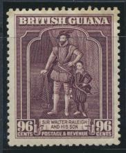 British Guiana SG 316  perf 12½ Mint Hinged (Sc# 238 see details)