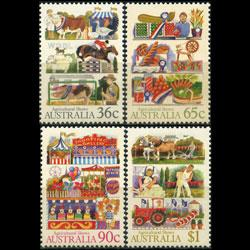 AUSTRALIA 1987 - Scott# 1019-22 Agriculture Set of 4 NH
