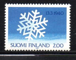 Finland Sc 814 1990 Winter War stamp mint NH