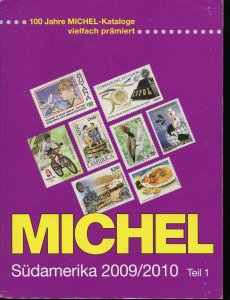 MICHEL CATALOG 2009-2010 SOUTH AMERICA PART 1 ARGENTINA TO ININI AS SHOWN