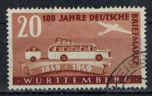 Germany - French Occupation - Wurttemberg - Scott 8N39