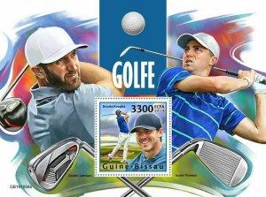 Z08 IMPERF GB191004b GUINEA BISSAU 2019 Golf MNH ** Postfrisch