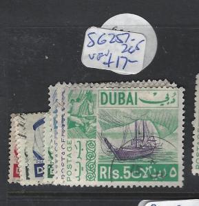 DUBAI (PP1501B)  BOATS  SG 257-265   VFU