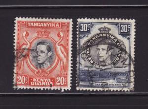 Kenya, Uganda, Tanzania 74, 76 U King George V