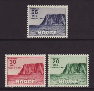 Norway B54-B56 Mint Hinged BIN