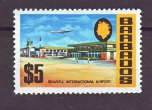 J22317 Jlstamp 1970 barbados hv of set mnh #343 airport