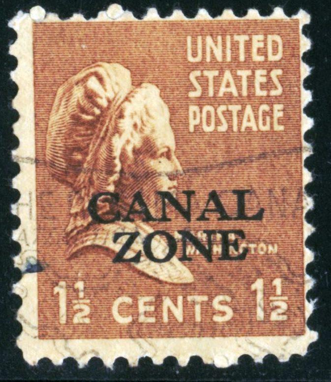 Canal Zone - SC #119 - Used - 1939 - Item CZ004