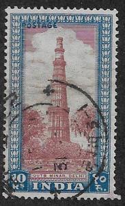 INDIA SC# 221  FVF/U 1949