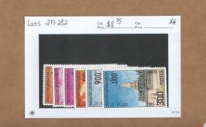Laos  277-282  MNH