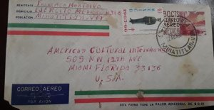 V) 1965 MEXICO, TB SEALS, SOLDIER, CU MODERN ARCHITECTURE, POSTAL STYATIONARY, A