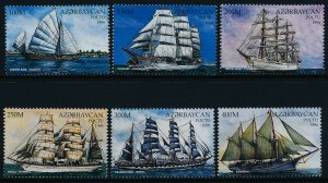 Azerbaijan 613-9 MNH Ships