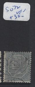 INDIA  (PP2409B) QV    6A 8P  SG 72  VFU