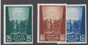 Vatican, 77-79, Jesus I have compassion on the Multitude Singles, **LH**