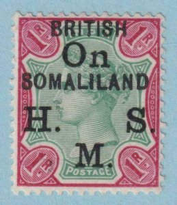 SOMALILAND PROTECTORATE O5 OFFICIAL MINT LIGHT HINGED OG * NO FAULTS VERY FINE!
