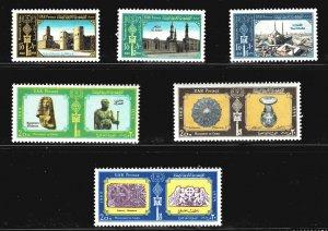 Egypt SG 1021-1026 - MNH - 1969 Millenary of Cairo set