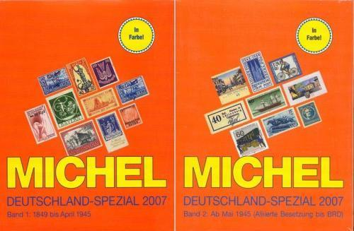 Michel Deutchland Spezial 2007 vol 1+2 - the books
