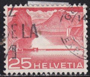 Switzerland 333 Lake Dam 1949