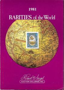 Rarities of the World 1981, Robert A. Siegel Auction Gall...