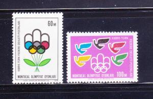 Turkish Republic Of Northern Cyprus 37-38 Set MNH Olympics