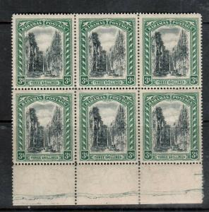 Bahamas #62 (SG #80) Very Fine Mint Block Of Six - Stamps Never Hinged