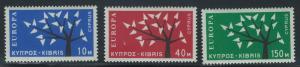 Cyprus Scott 219-221 Europa MNH!