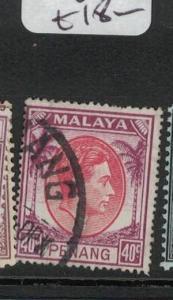 Malaya Penang SG 18 VFU (6dqz)