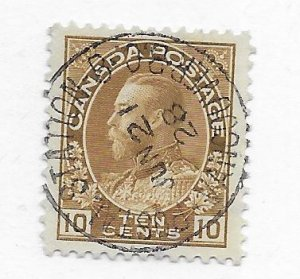Straits Settlement #118 Used GREAT CANCEL! - Stamp - CAT VALUE $3.00+++