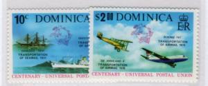 Dominica Sc.# 418-19 MNH ( 616-1 )