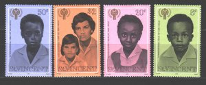 Saint Vincent and the Grenadines. 1979. 512-15. Year of children. MNH.