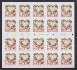 United States stamp 1999 MNH Greeting stamp WS75654