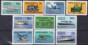 Barbuda #867-76 MNH CV $85.75  (SU7595)