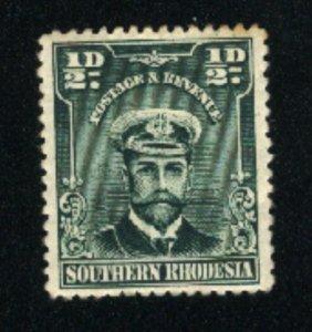 Southern Rhodesia #1   -2    Mint 1924-30 PD