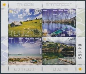 Montenegro stamp Tourism stamp-booklet sheet MNH 2008 WS231918