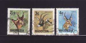 Rhodesia 329-331 U Animals