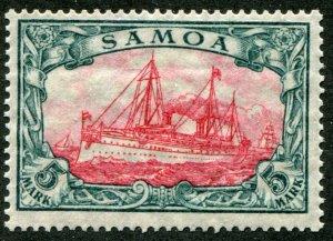 Samoa  Mi.# 23 IA      Sc.# 73a     MNH**  original Gum