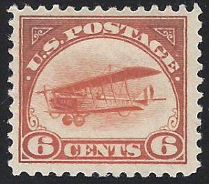 Scott C1, Original Gum, Air Post Issues