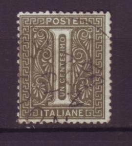 J20068 jlstamps 1863 italy used #24 numeral