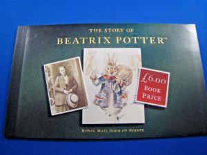 GREAT BRITAIN - SCOTT # BK158  MNH    COMPLETE BOOKLET          (gg)
