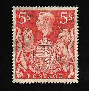 Great Britain 1939 - U - Scott #250