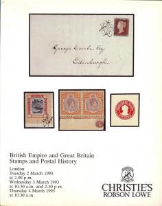 Christie's Robson Lowe:    British Empire and Great Brita...