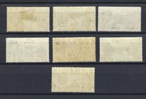 Ascension   KGVI  1938  Part set   mounted mint   (H-A5)