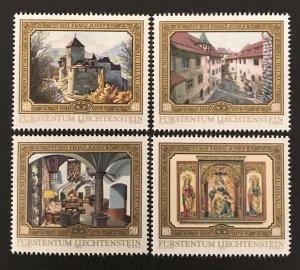 Liechtenstein 1978 #650-3, MNH, CV $2.55