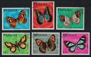 Panama Butterflies 6v CTO SC#483-483E